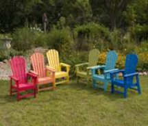 Plastic Muskoka Chairs